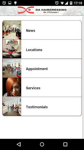 DA Hairdressing