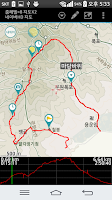Screenshot of Nadeuli (GPS tracker)