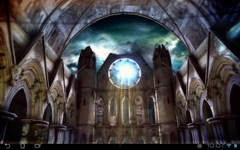 Gothic 3D Live Wallpaper Screenshot
