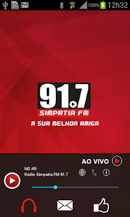 Rádio Simpatia 91.7 FM- screenshot thumbnail