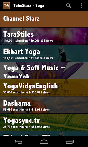 TubeStarz - Yoga
