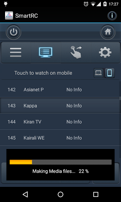 Asianet Smart Remote Control - screenshot
