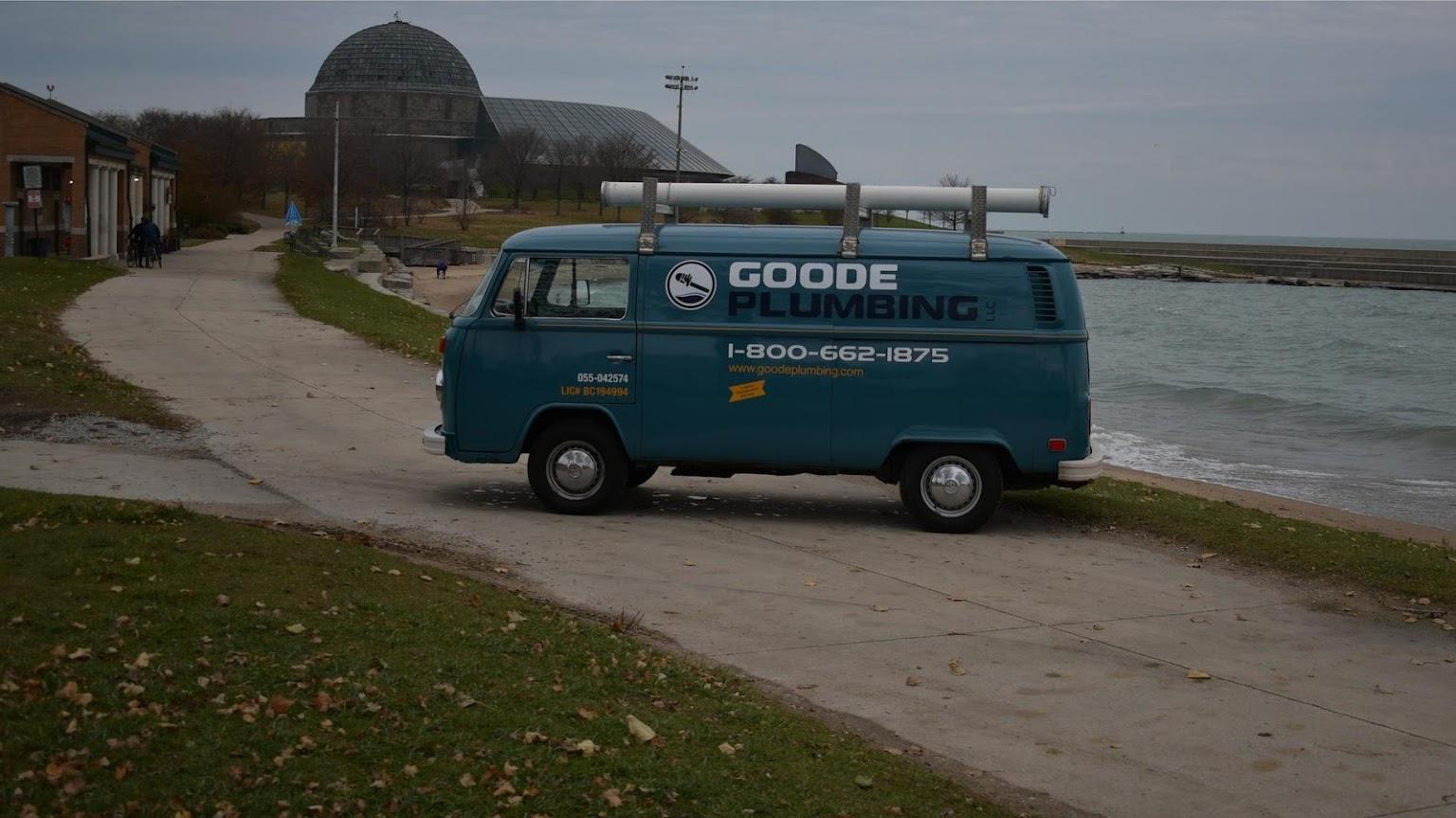 Goode Plumbing Service car
