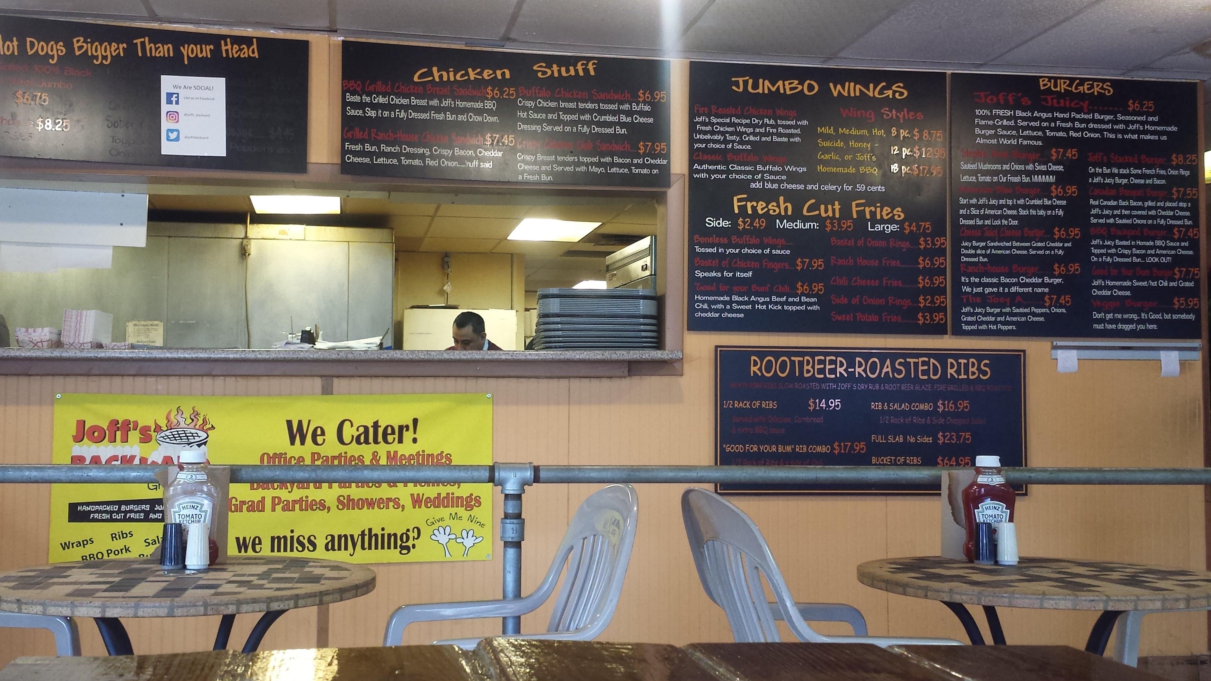 joff u0027s backyard grill bellingham restaurant review zagat