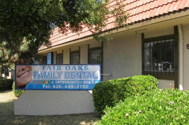 Welcome Pasadena California Fair Oaks Family Dental