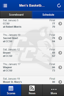 CCSU Athletics - screenshot thumbnail