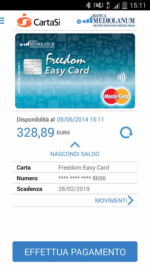 Mediolanum Wallet - screenshot