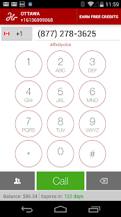 Free Number, Texting and Calls - screenshot thumbnail