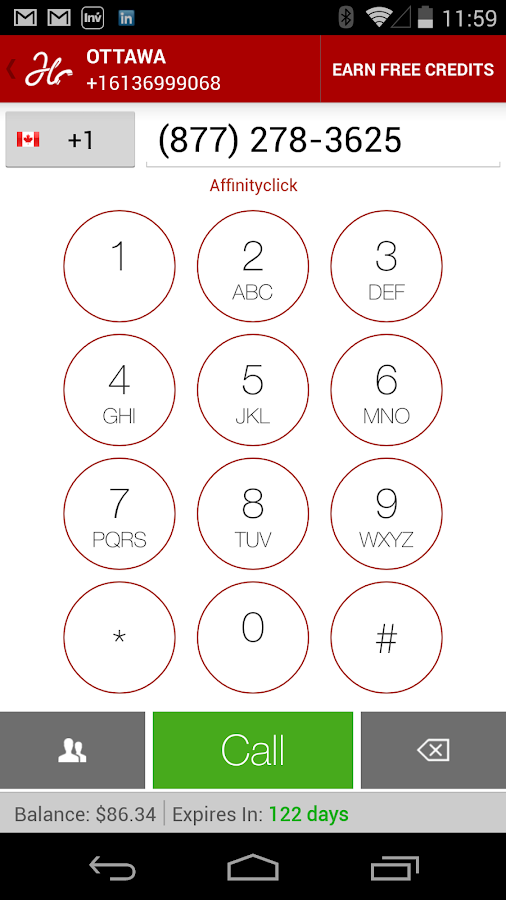 Free Number, Texting and Calls - screenshot