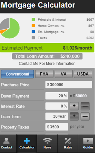 Jim Passamonte's Mortgage Mapp