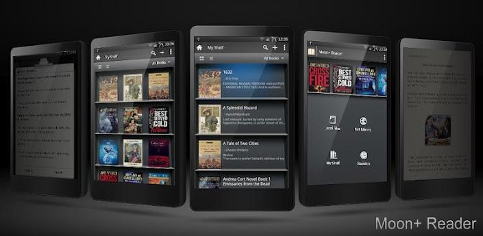 Скачать читалку Moon+ Reader Pro Android