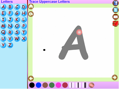 Trace Kannada Alphabets Kids- screenshot thumbnail