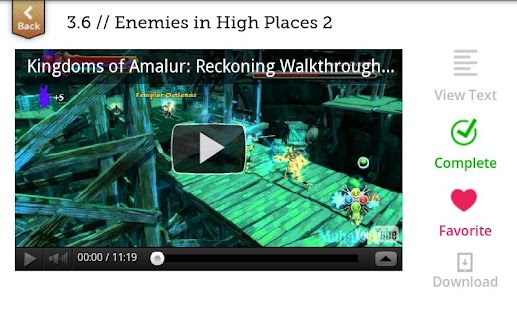 Kingdoms of Amalur Walkthrough- screenshot thumbnail