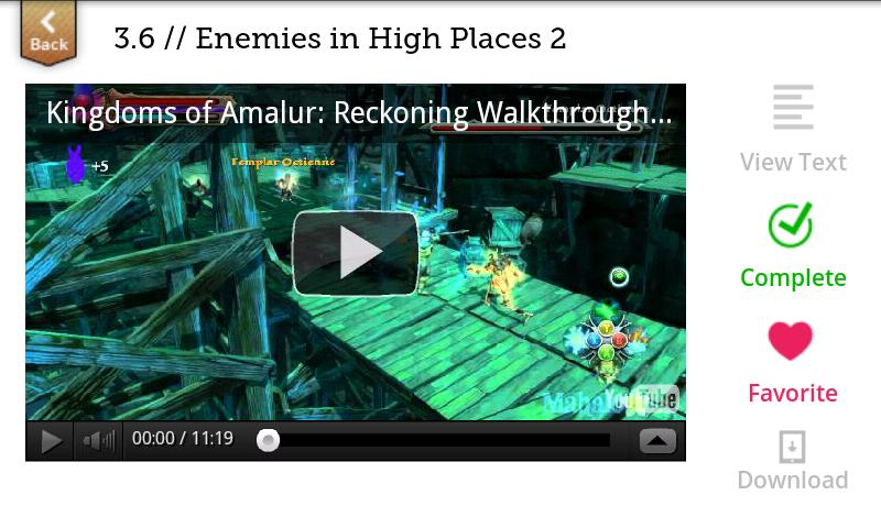 Kingdoms of Amalur Walkthrough- screenshot