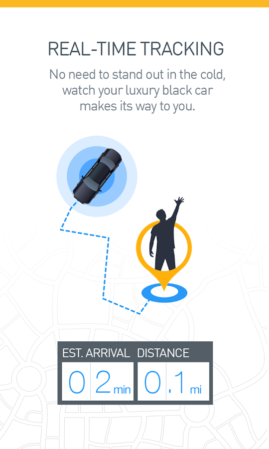 Gett - Black car & taxi app - screenshot