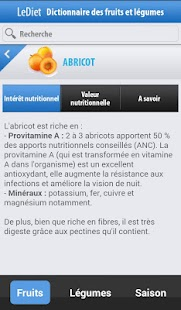 Fruits et légumes- screenshot thumbnail