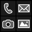 BL Monochrome Dark Theme icon