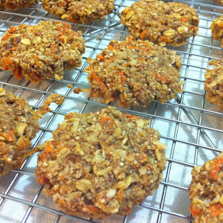 Olive Oil Red Quinoa Carrot Cookies..