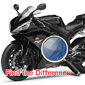Find Differences - Motorcycle