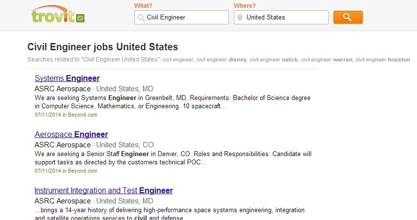 Civil Engineer Jobs- screenshot