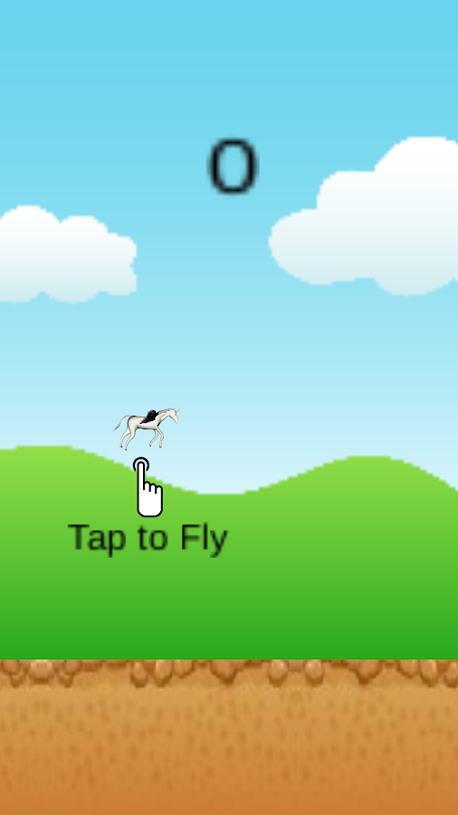 Flappy Horse Pegasus - screenshot