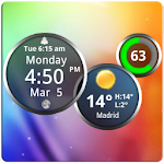 Rings Digital Weather Clock 4.2.4 Apk