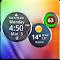 Rings Digital Weather Clock 4.2.4 Apk