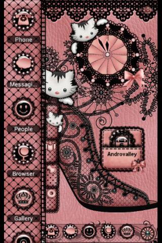 TSF Shell Theme Glamour Kitty