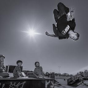 | Flip Flop | by Photo Jovan - Sports & Fitness Other Sports ( skateboard park, inline, action, spectators, roller blades,  )