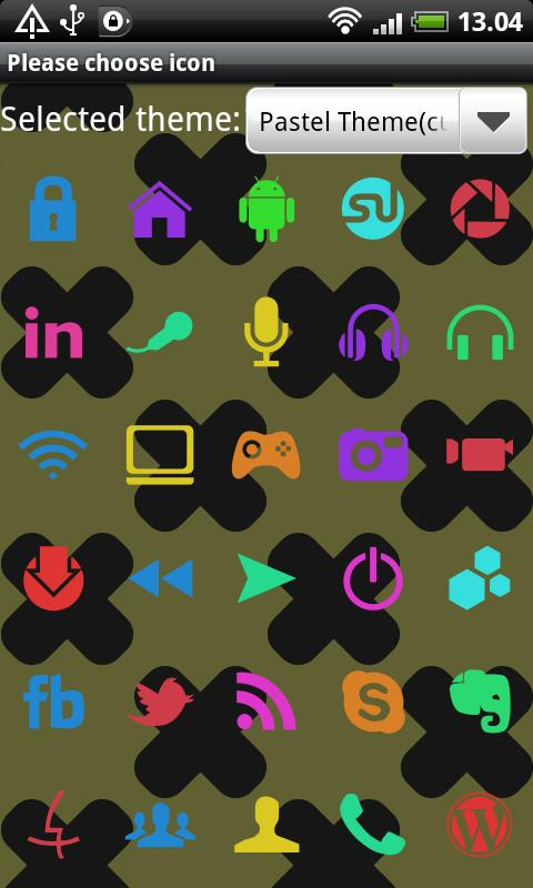 Pastel GO Launcher EX Theme - screenshot