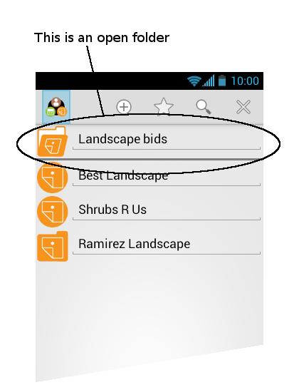 Perinote Organizer - screenshot
