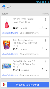 Google Shopping Express - screenshot thumbnail