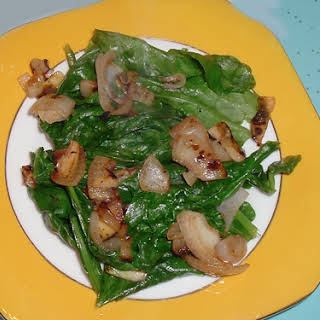 Collard Greens Salad recipe – 85 calories.