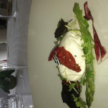 Burrata & asperges