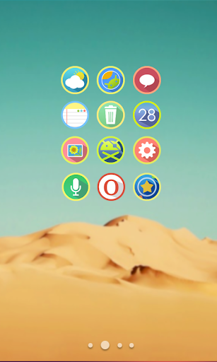 Rings Flat Icon Pack
