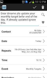 Aapi SMS Scheduler - screenshot thumbnail