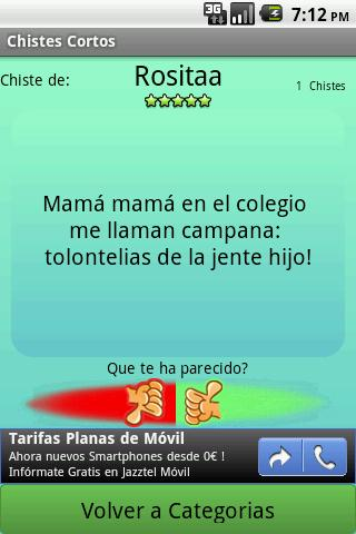 Chistes- screenshot