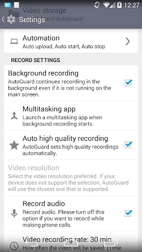AutoGuard Dash Cam - Blackbox  screenshots 7