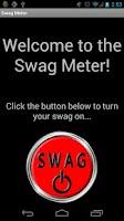 Screenshot of Swag Meter