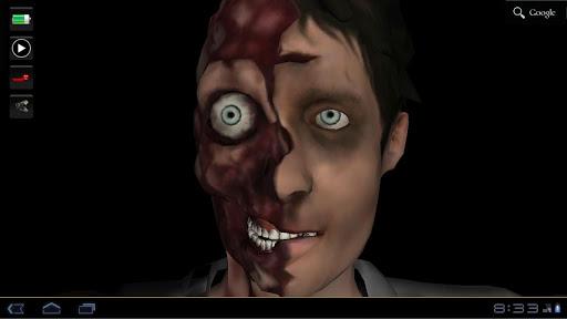Zombie 3D Live Wallpaper