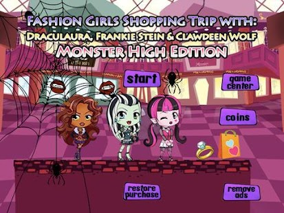 Fashion Monster Girls Shopping