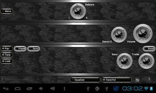 poweramp skin black snake Screenshot 6