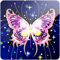 3D Butterfly icon