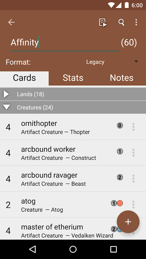 MTG Tracker Free: Life Counter - screenshot