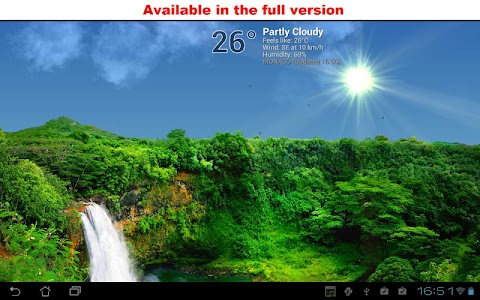 True Weather, Waterfalls FREE screenshot 1