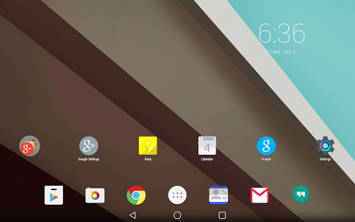 Android L Launcher Theme v1.1
