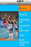 Screenshot of Volei Notícias