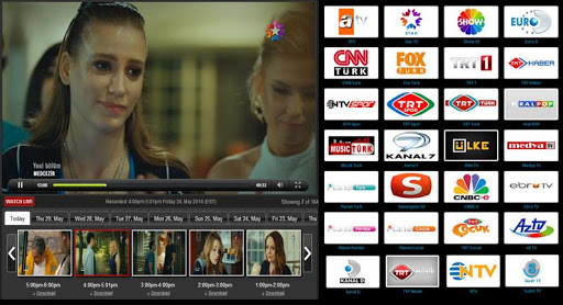 Giniko Turkish TV - Live DVR