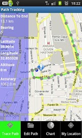 Path Tracking Screenshot 1