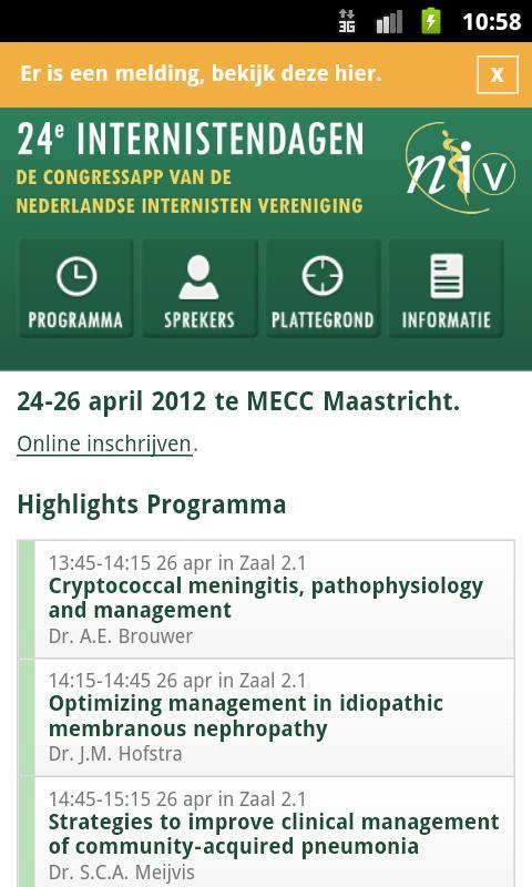 NIV 2012- screenshot